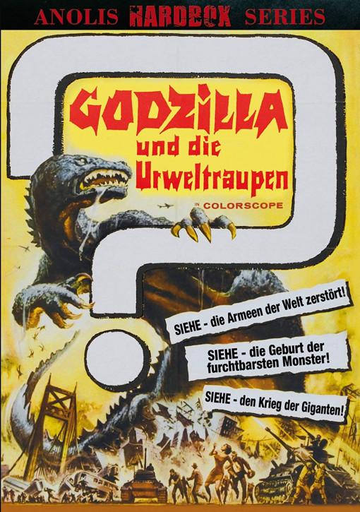 Godzilla und die Urweltraupen - Anolis Hardbox Series 22 - Cover B [DVD]
