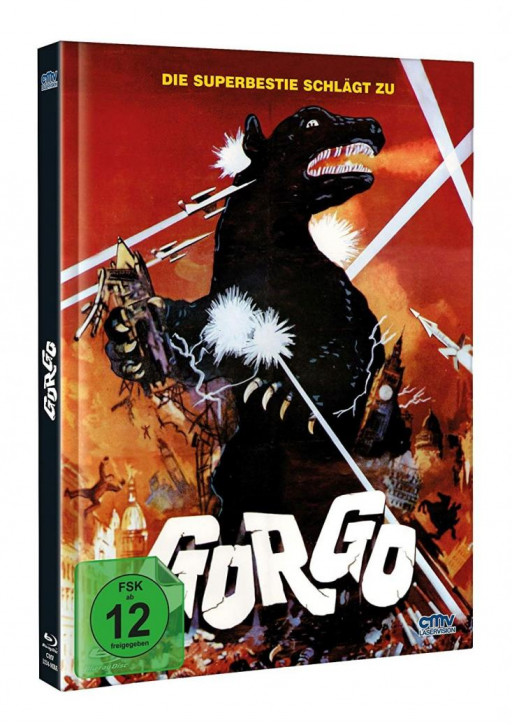 Gorgo - Limited Mediabook - Cover A [Blu-ray+DVD]