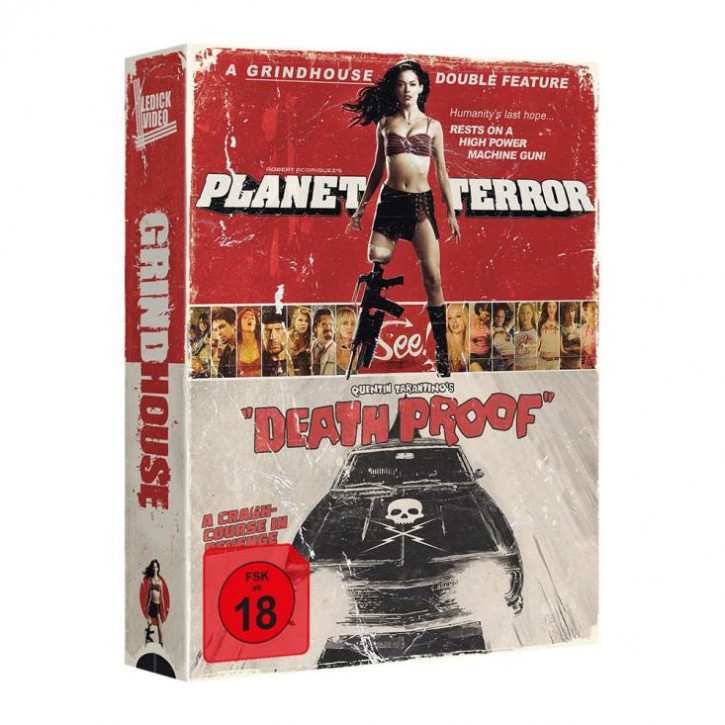 Grindhouse - Tape Edition [Blu-ray]