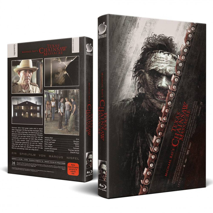 Michael Bay´s - Texas Chainsaw Massacre - Große Hartbox - Cover C [Blu-ray]