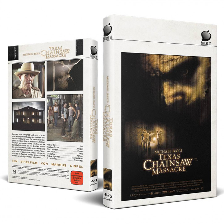 Michael Bay´s - Texas Chainsaw Massacre - Große Hartbox - Cover D [Blu-ray]