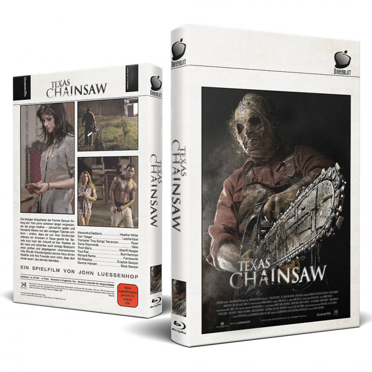 Texas Chainsaw - Große Hartbox - Cover B [Blu-ray]