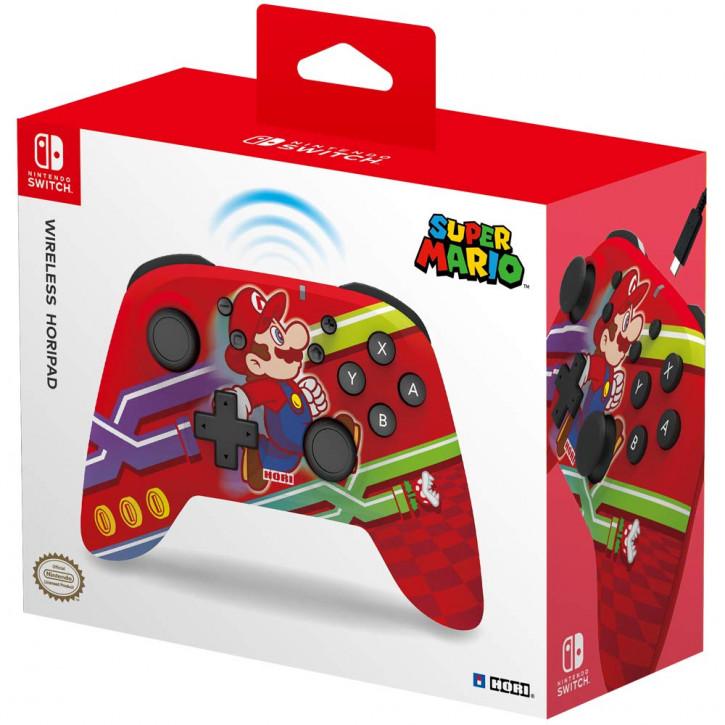 HORI Kabelloser Controller (Super Mario) [Nintendo Switch]
