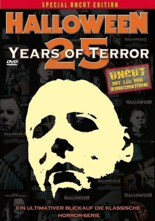 Halloween - 25 Years of Terror [DVD]