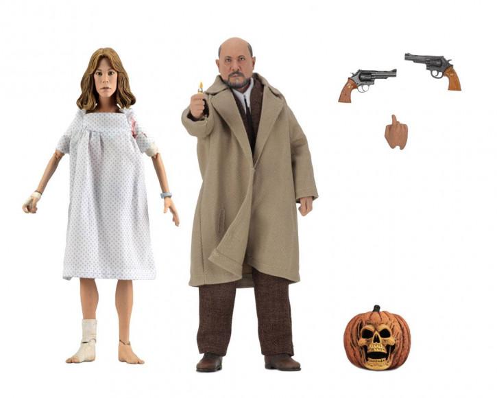 Halloween II - Retro Actionfiguren Doppelpack - Doctor Loomis & Laurie Strode