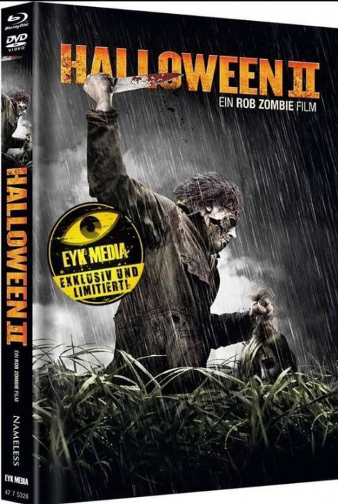 Halloween II (Rob Zombie) - Limited Mediabook - Cover C [Blu-ray+DVD]