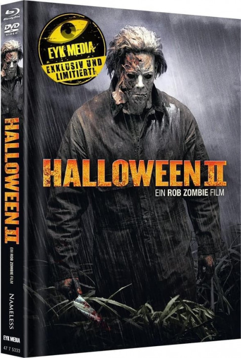 Halloween II (Rob Zombie) - Limited Mediabook - Cover D [Blu-ray+DVD]
