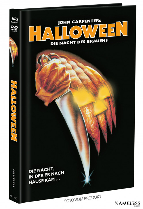 Halloween (1978) - Limited Mediabook - Cover A [Blu-ray+DVD]