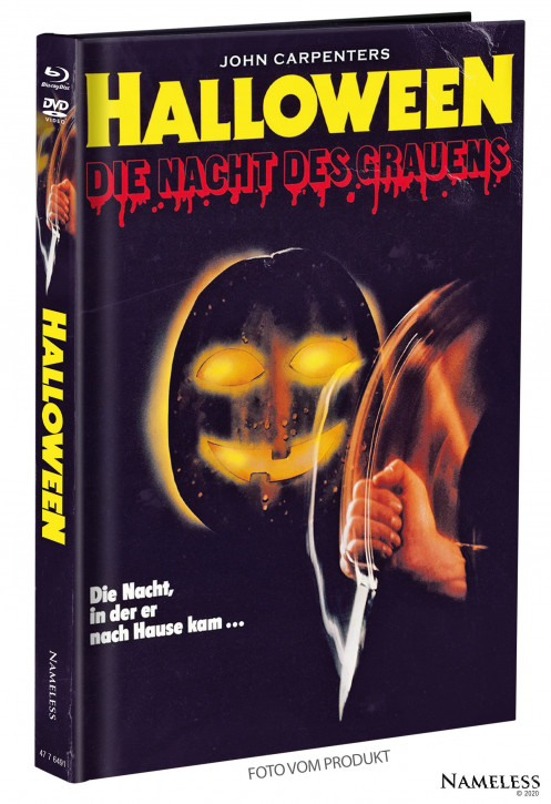 Halloween (1978) - Limited Mediabook - Cover B [Blu-ray+DVD]