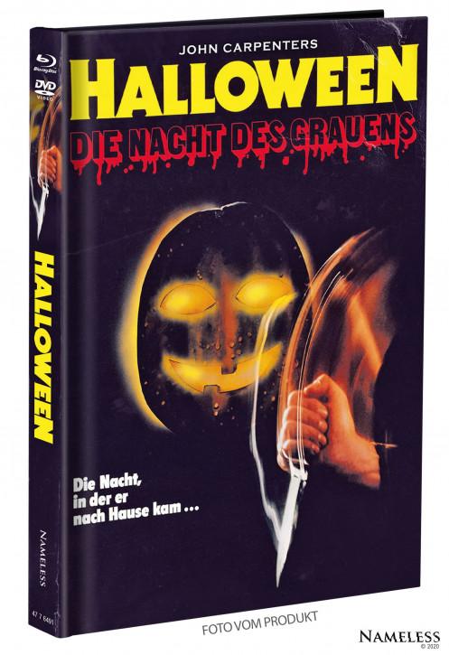 Halloween (1978) - Limited Mediabook - Cover B [Blu-ray+DVD]