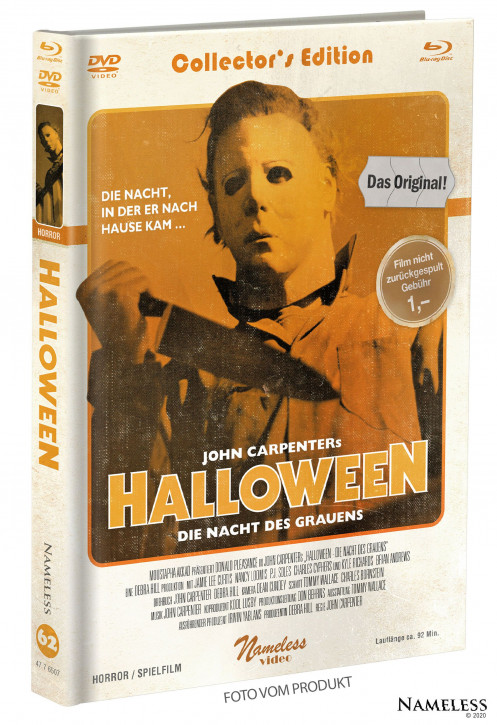 Halloween (1978) - Limited Mediabook - Cover C [Blu-ray+DVD]