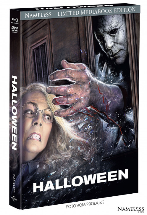 Halloween (2018) - Limited Mediabook - Cover A [Blu-ray+DVD]