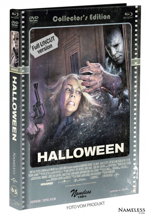 Halloween (2018) - Limited Mediabook - Cover C [Blu-ray+DVD]