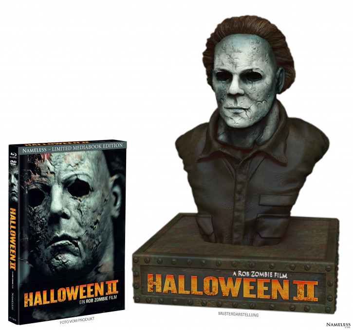 Halloween II (Rob Zombie) - Limited Bust Edition [Blu-ray+DVD]