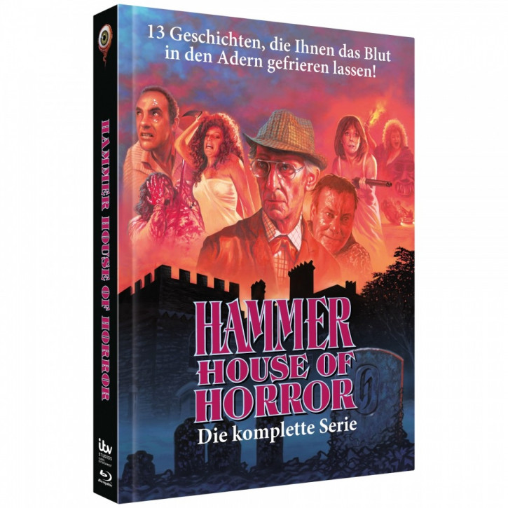 Hammer House of Horror - Limited Collectors Edition Mediabook [Blu-ray]