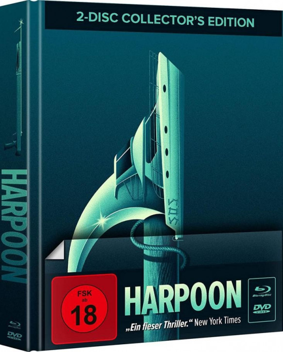 Harpoon - Mediabook - Cover A [Blu-ray+DVD]