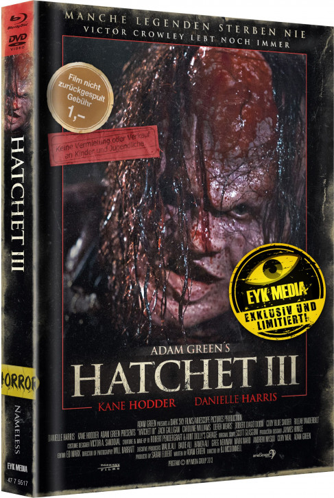 Hatchet 3 - Limited Mediabook - Cover C [Blu-ray+DVD]