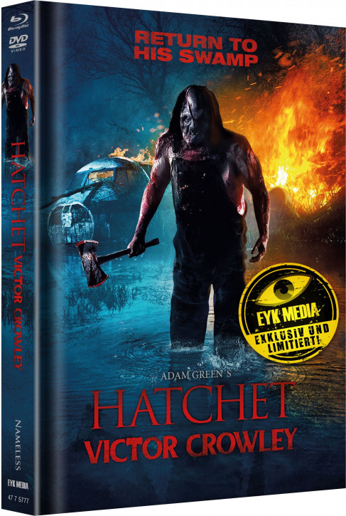 Hatchet 4 - Limited Mediabook - Cover A [Blu-ray+DVD]