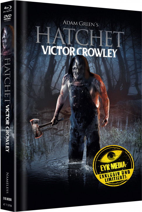 Hatchet 4 - Limited Mediabook - Cover B [Blu-ray+DVD]