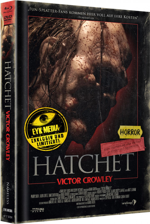 Hatchet 4 - Limited Mediabook - Cover C [Blu-ray+DVD]