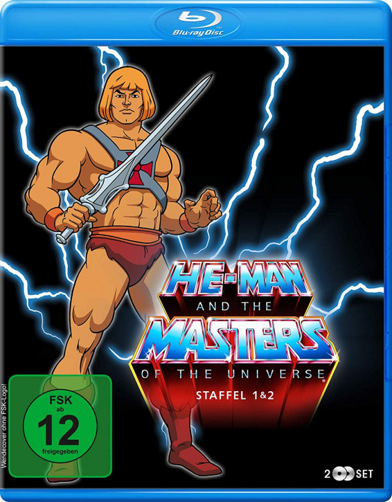 He-Man and the Masters of the Universe - Staffel 1+2 [Blu-ray]