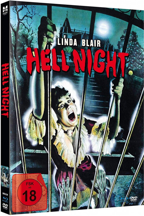 Hell Night - Limited Mediabook Edition - Cover B [Blu-ray+DVD]
