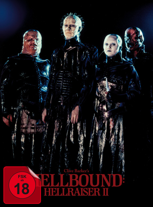 Hellbound - Hellraiser II - Limited Mediabook Edition - Cover A [Blu-ray+DVD]