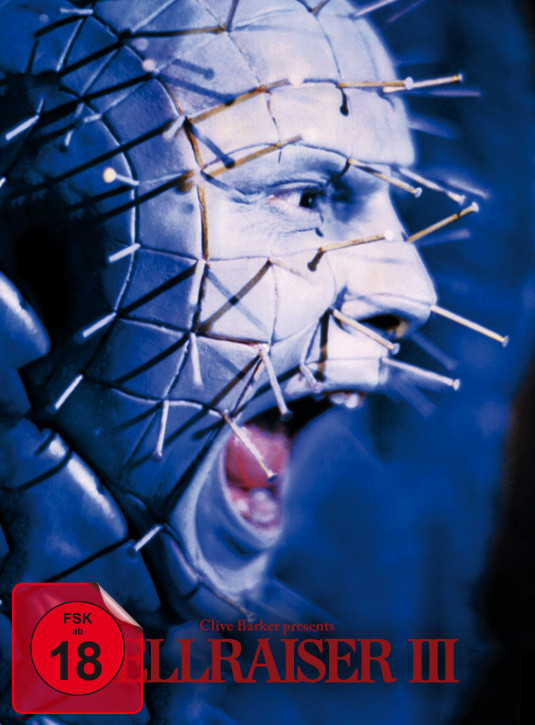 Hellraiser III - Limited Mediabook Edition - Cover A [Blu-ray+DVD]
