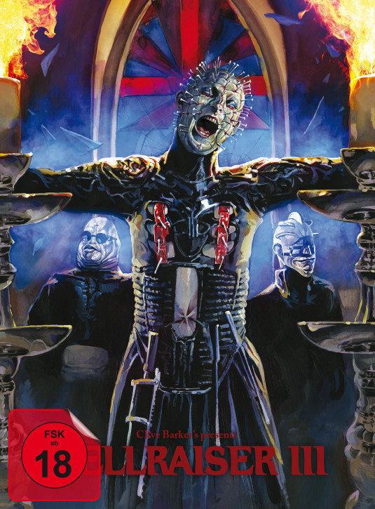 Hellraiser III - Limited Mediabook Edition - Cover B [Blu-ray+DVD]