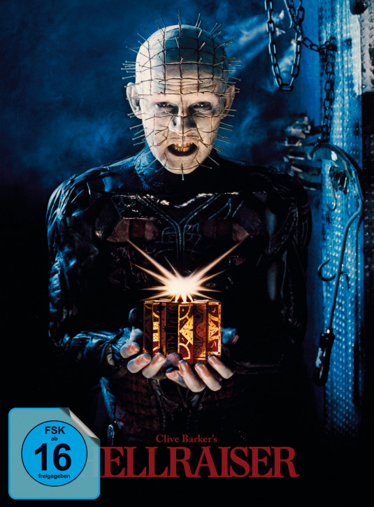 Hellraiser - Limited Mediabook Edition - Cover A [Blu-ray+DVD]