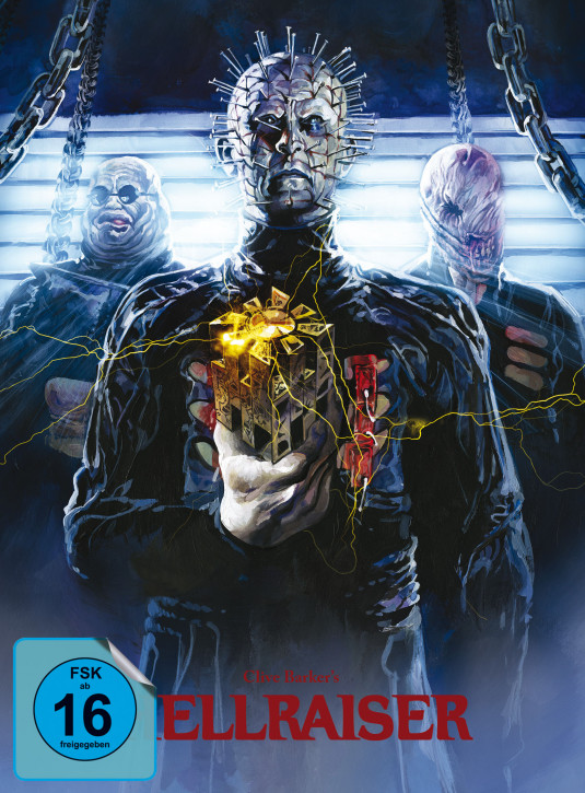 Hellraiser - Limited Mediabook Edition - Cover B [Blu-ray+DVD]