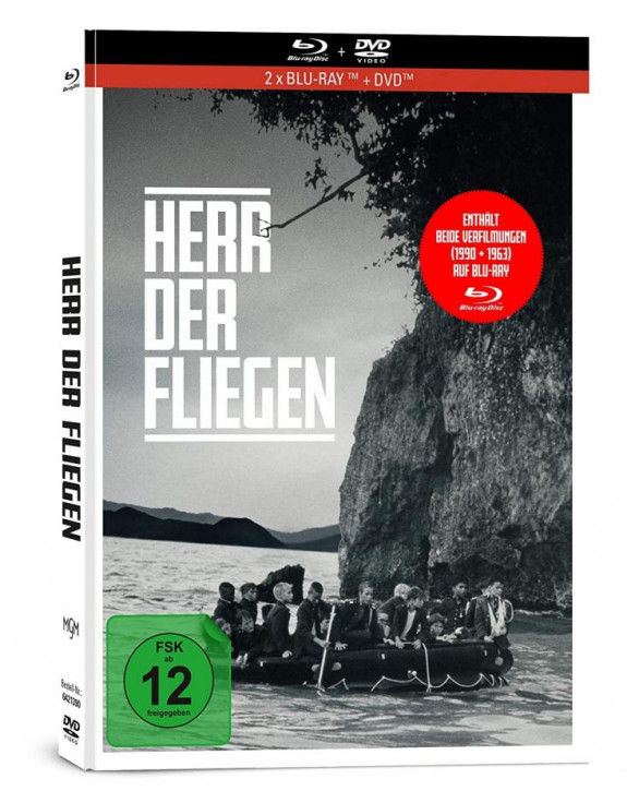 Herr der Fliegen - Limited Mediabook Edition [Blu-ray+DVD]