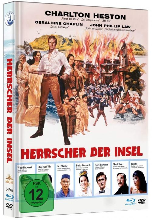 Herrscher der Insel - Limited Mediabook Edition [Blu-ray+DVD]