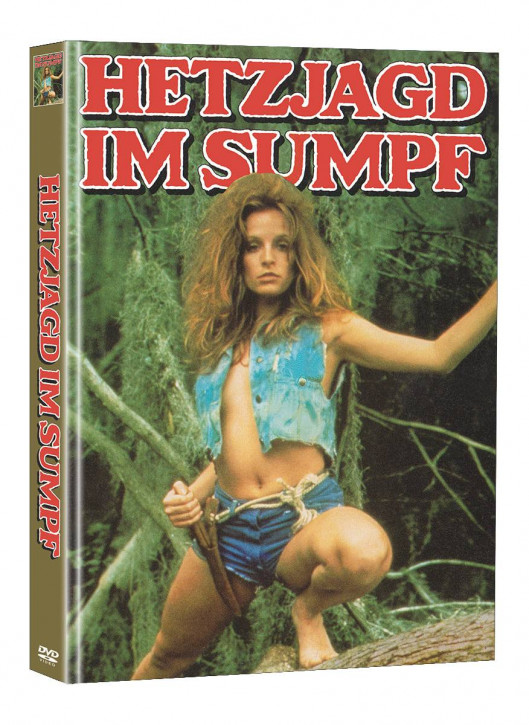 Hetzjagd im Sumpf - Limited Mediabook Edition - Cover A (Super Spooky Stories #145) [DVD]