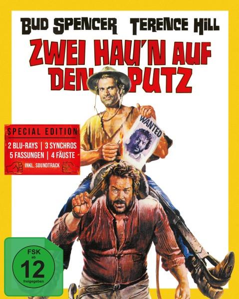 Hügel der blutigen Stiefel/Zwei hau'n auf den Putz - Mediabook - Cover A [Blu-ray+CD]