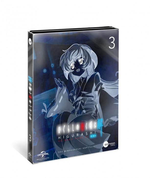 Higurashi Kai Vol.3 (Steelcase Edition) [DVD]