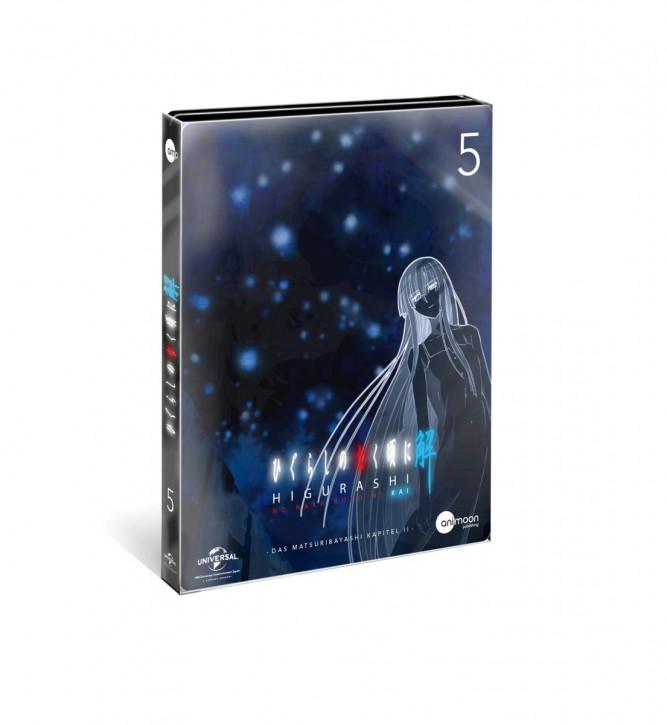 Higurashi Kai Vol.5 (Steelcase Edition) [DVD]