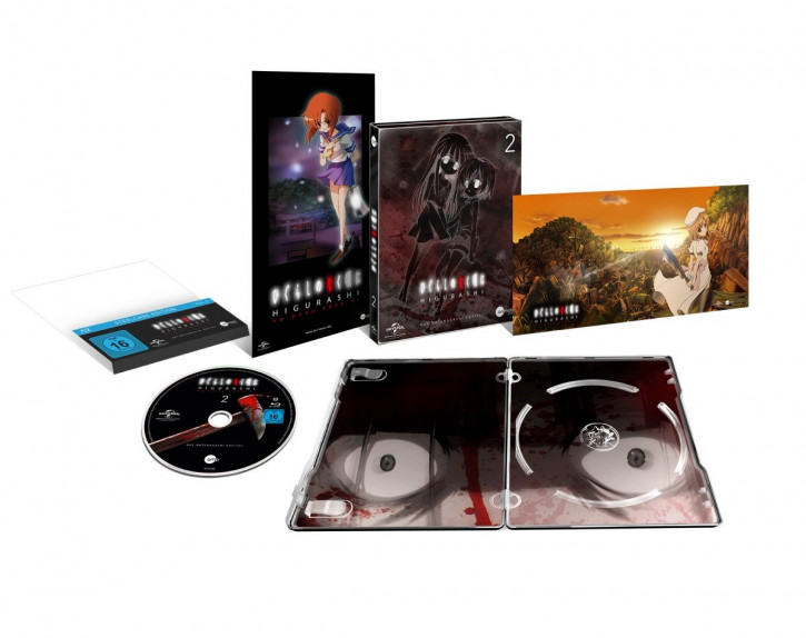 Higurashi Vol.2 (Steelcase Edition) [Blu-ray]