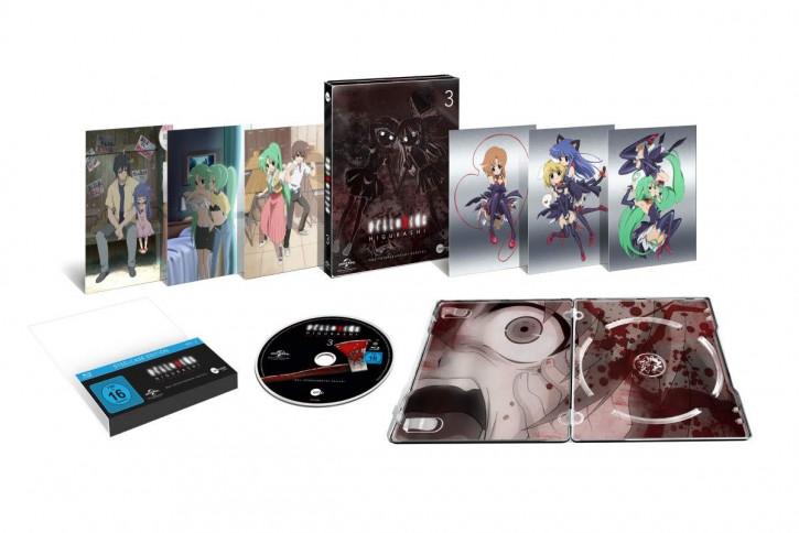 Higurashi Vol.3 (Steelcase Edition) [Blu-ray]