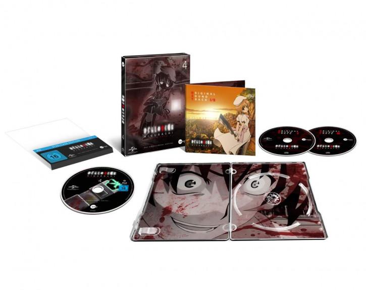 Higurashi Vol.4 (Steelcase Edition) [Blu-ray]