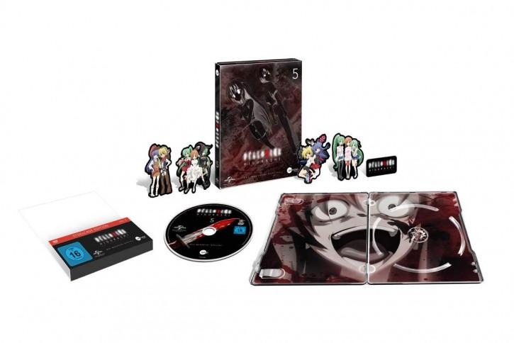 Higurashi Vol.5 (Steelcase Edition) [DVD]