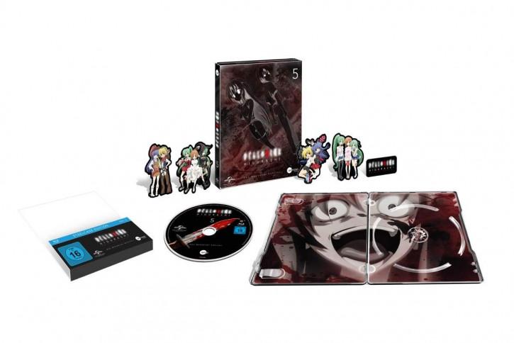 Higurashi Vol.5 (Steelcase Edition) [Blu-ray]