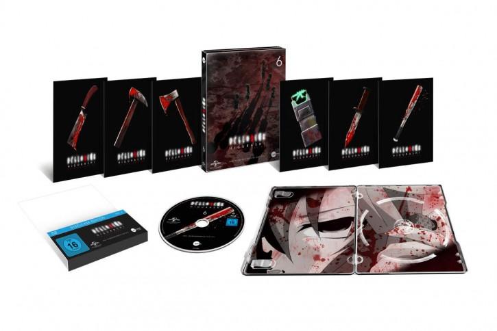 Higurashi Vol.6 (Steelcase Edition) [Blu-ray]