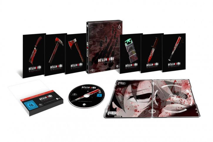 Higurashi Vol.6 (Steelcase Edition) [DVD]