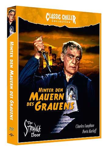 Hinter den Mauern des Grauens - Classic Chiller Collection [Blu-ray+DVD]