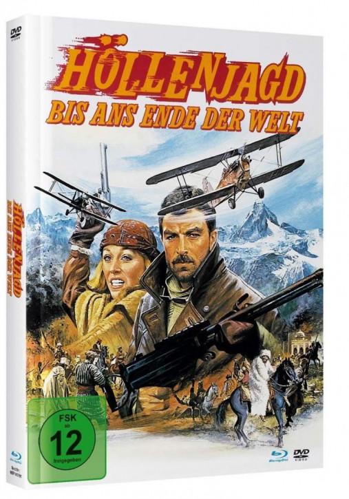 Höllenjagd bis ans Ende der Welt - Mediabook - Cover A [Blu-ray+DVD]
