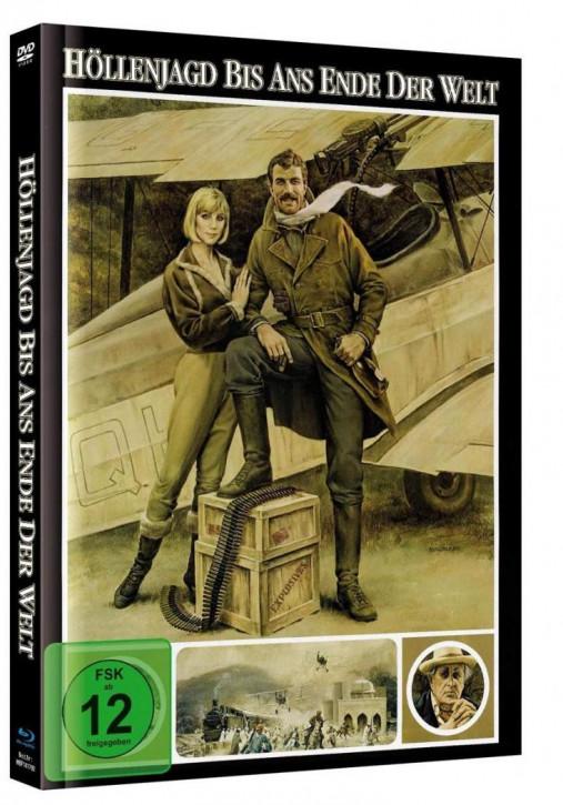 Höllenjagd bis ans Ende der Welt - Mediabook - Cover B [Blu-ray+DVD]