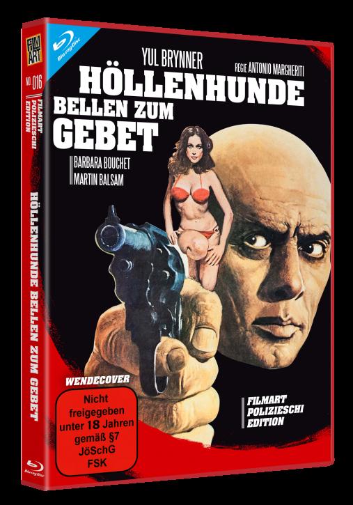 Höllenhunde bellen zum Gebet - Polizieschi Edition # 16 [Blu-ray+DVD]