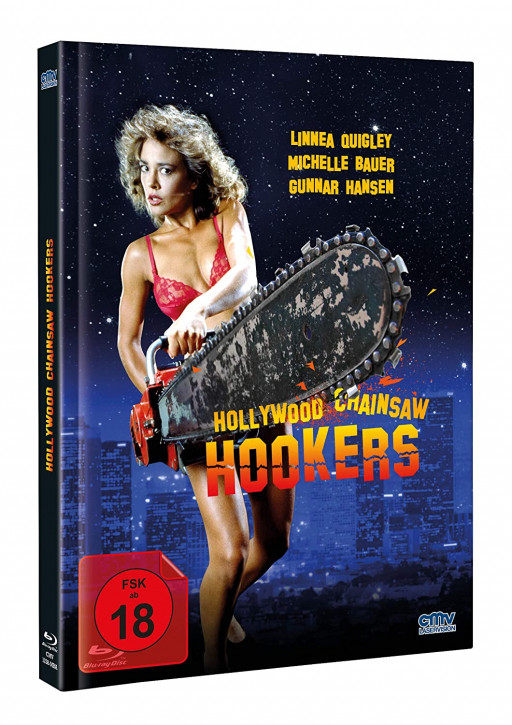 Hollywood Chainsaw Hookers - Limited Mediabook - Cover A [Blu-ray+DVD]