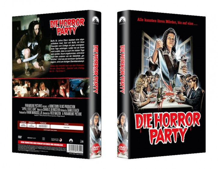 Die Horror Party - große Hartbox - Cover B [DVD]